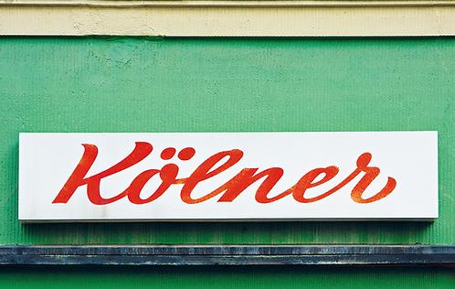 Frühstücksbrett Kölner
