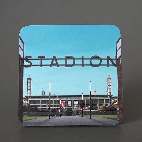 Untersetzer Stadion