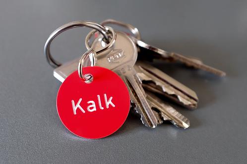 Schlüsselanhänger Kalk
