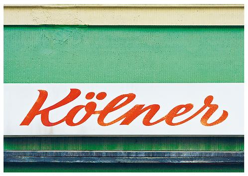 Postkarte Kölner