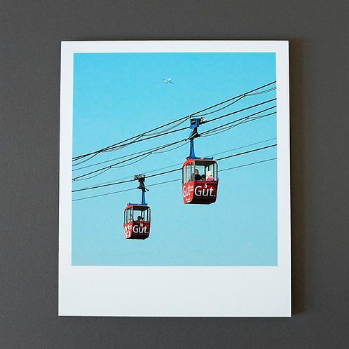 Polaroid Seilbahn