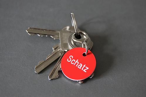 Schlüsselanhänger Schatz