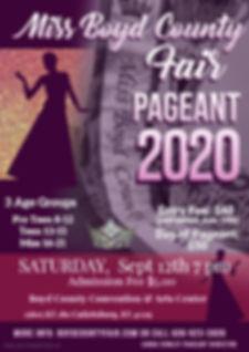 Copy of Copy of Beauty Pageant Flyer - M