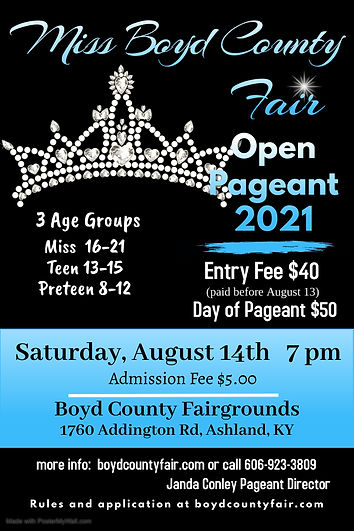 Copy of Beauty Pageant Poster - Made wit