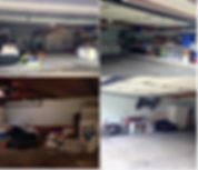 garage before and after on a budget
