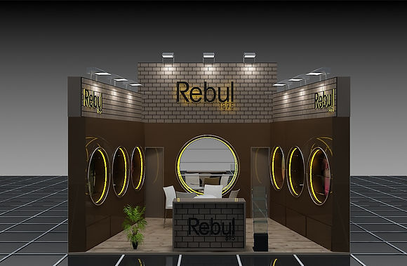 Rebul exhibition stand by Expomod in Beautyworld ME 2016 in Dubai