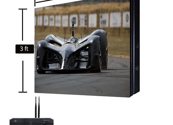 3 ft x 3 ft Single Sided LED Screen