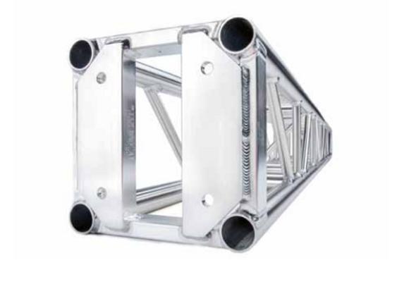 Light-duty truss 12 x 12 plated