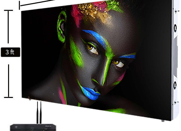 3 ft x 6 ft Double Sided LED Screen