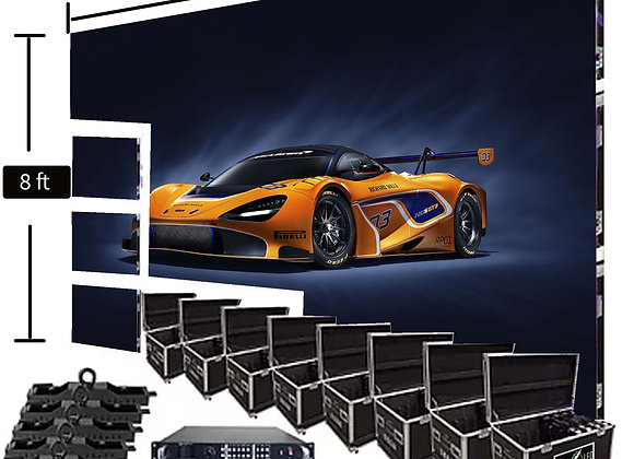 LED Video Wall Screen 8′ x 16′ P3.9mm Indoor Turn-key