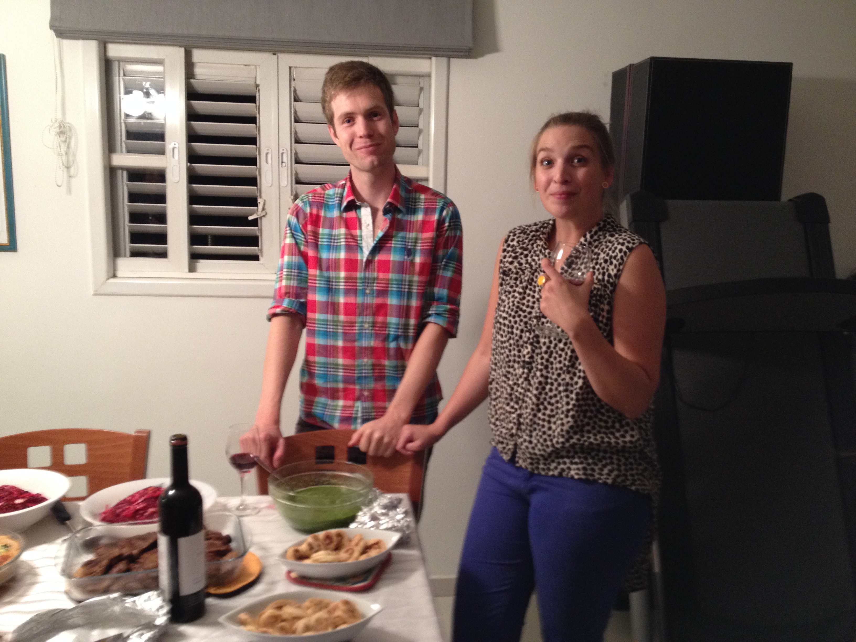 Chris & Tanya celebrating fellowship