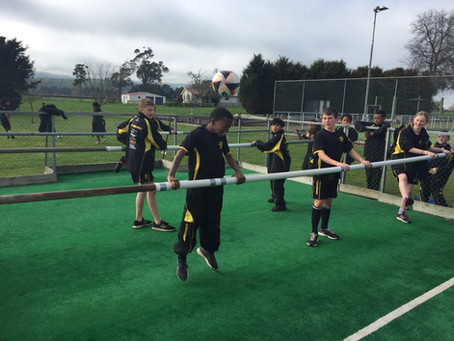 Schools Combine for Sports Camp