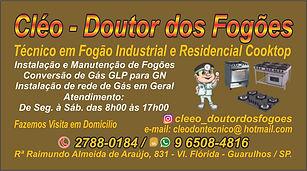 CARTÃO_CLÉO_-_DOUTOR_DOS_FOGÕES___4X1
