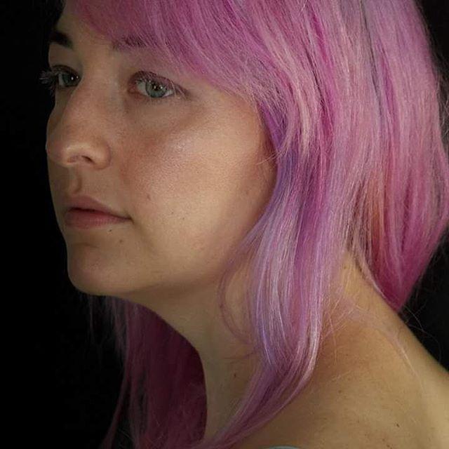 Strong Pink Vivid Hair