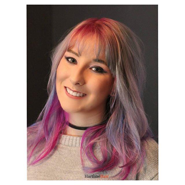 Girly Mermaid Hair Color