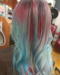 Pastel Mermaid Vivid Hair