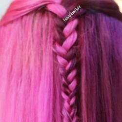 Bright Pink Vivid Color Hair - Dalton, GA
