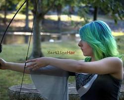 Bright Ocean Vivid Hair Color