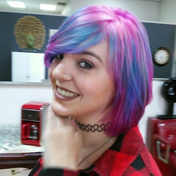 Bright Vivid Hair Color