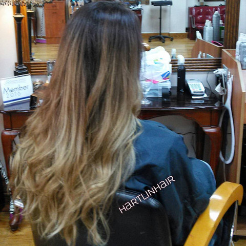 Lived-In, Hand-Painted Balayage