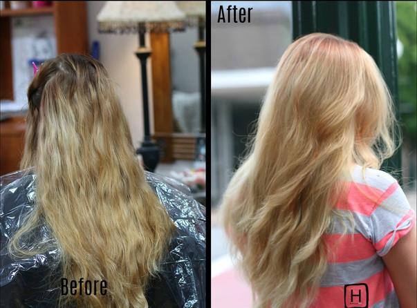 Healthy Blonde Transformation