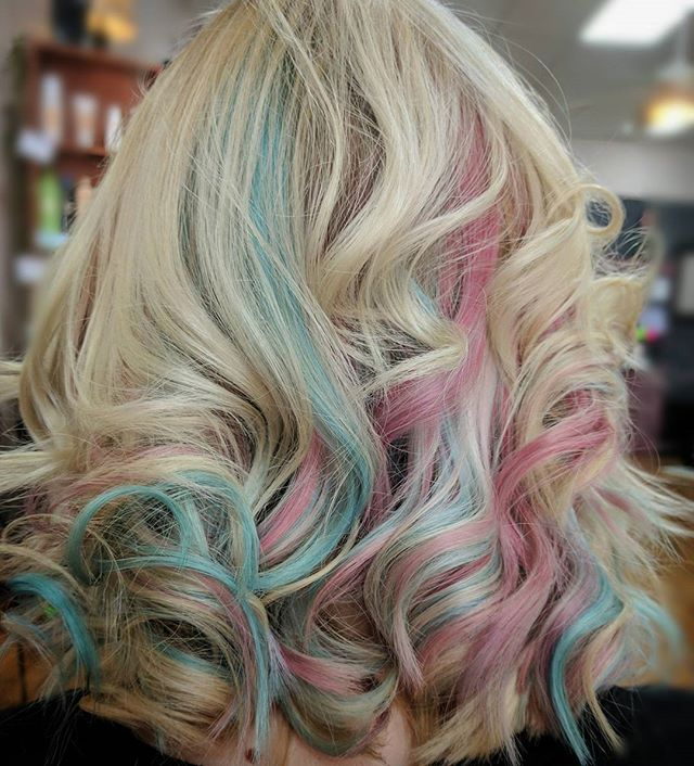 Pastel Blonde Hair