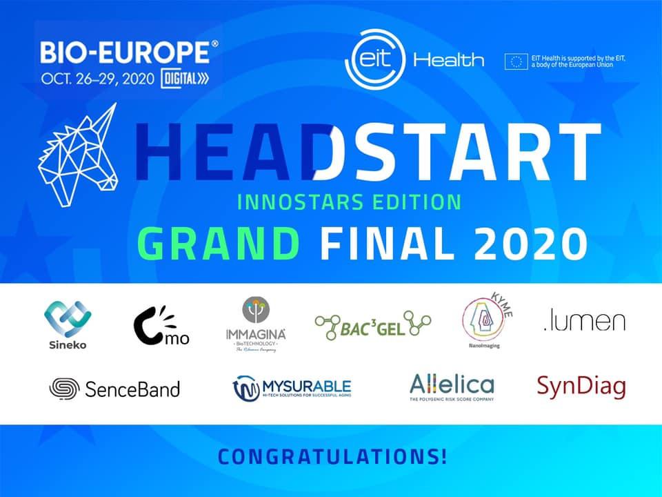Headstart InnoStars winning teams logos