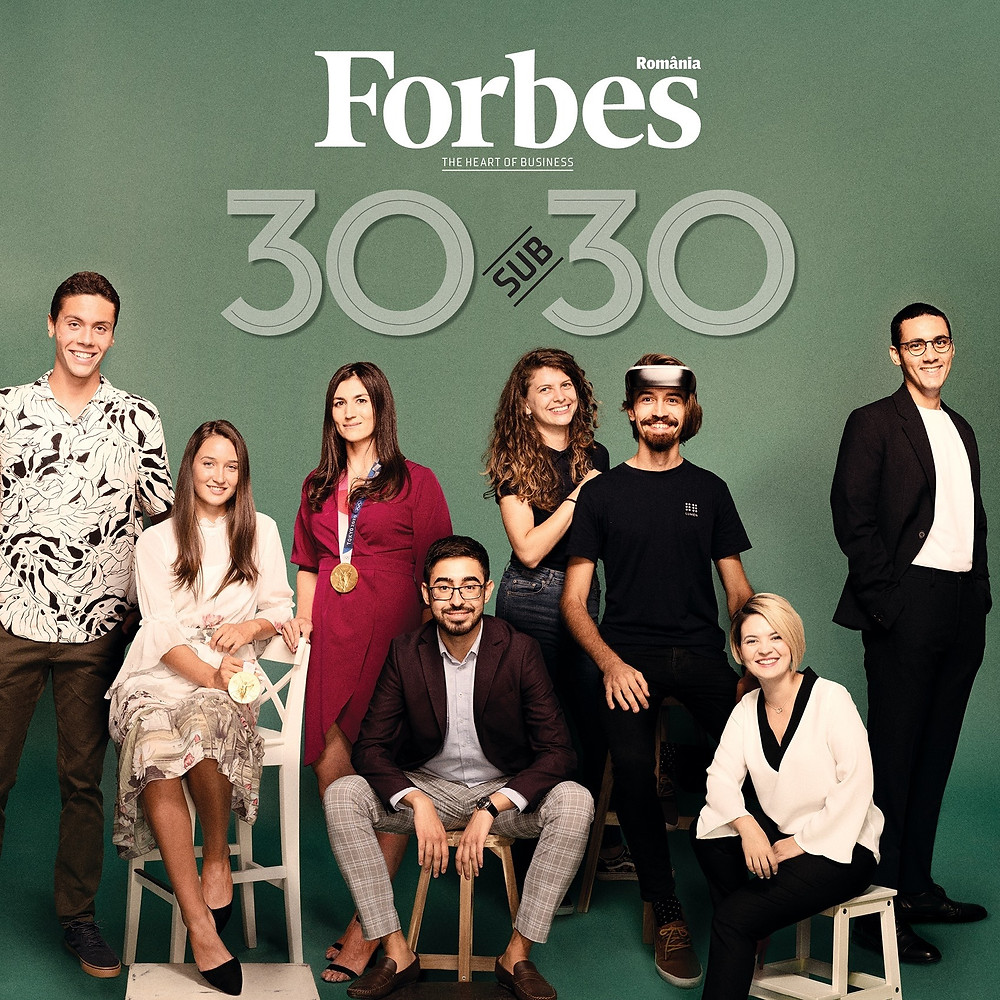 Romanian Forbes Magazine cover of 30 Under 30