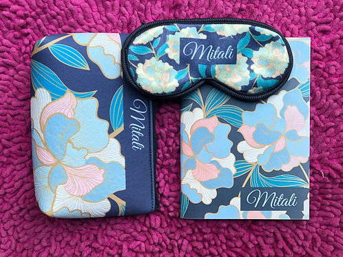 Enamel Floral Customised Set with Notebook