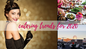 Corporate Event Catering Trends for 2020