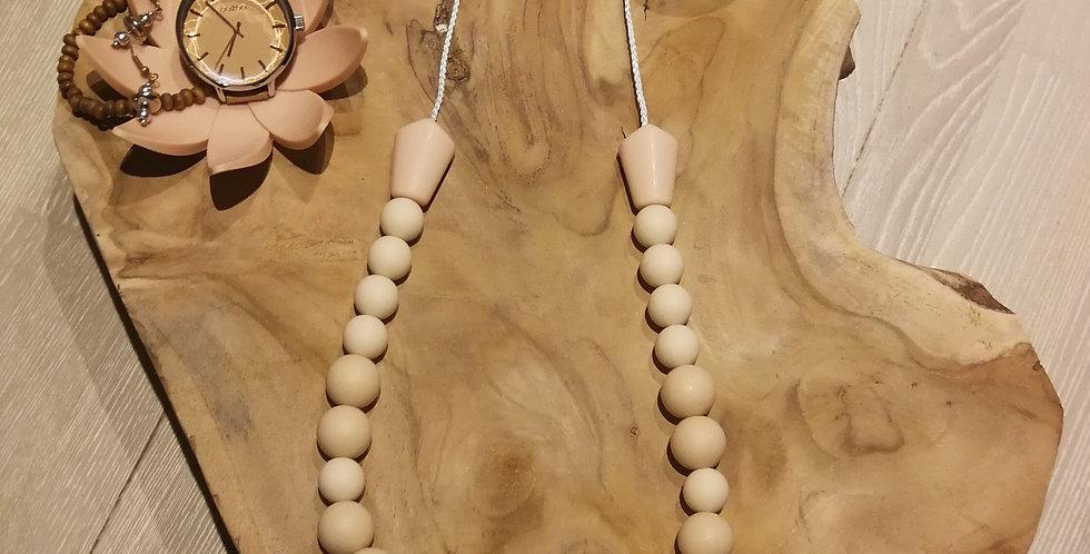 Collier d'allaitement de perles à croquer