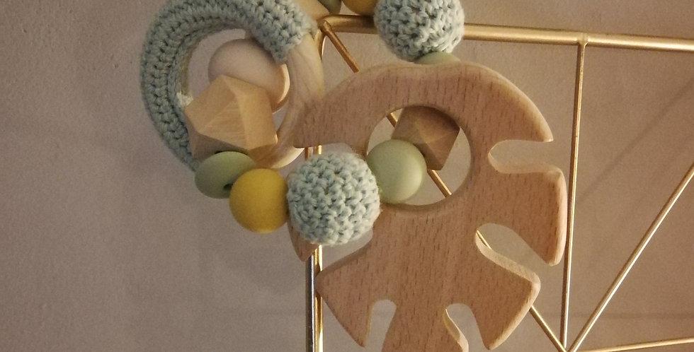 Anneau de perles à croquer