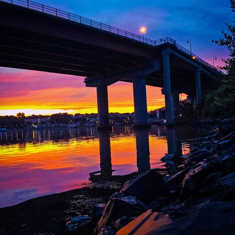 Casco Bay Bridge, South Portland, Maine (05/30/16)