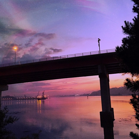 Casco Bay Bridge, South Portland, Maine (06/24/15)