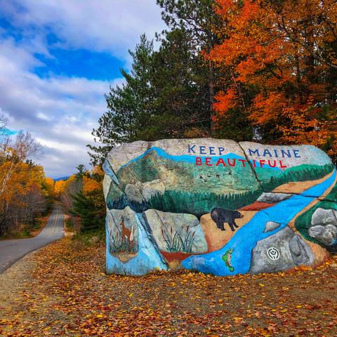Pockwockamus Rock, Millinocket, Maine (10/13/19)