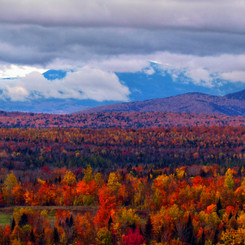 Katahdin Scenic View, Patten, Maine (10/13/19)