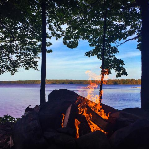 Lake Pemaquid Campground, Damariscotta, Maine (05/30/15)