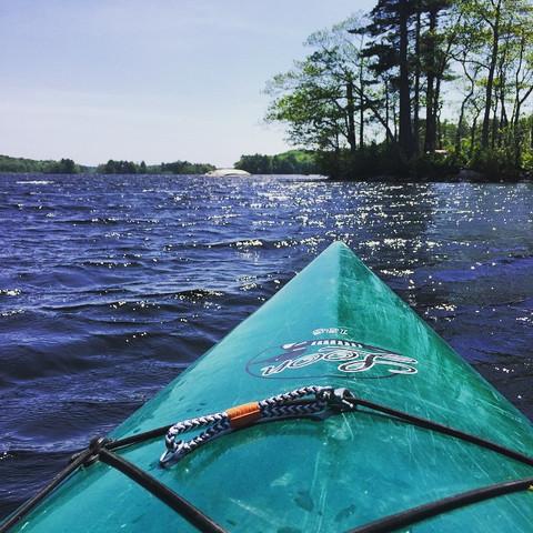 Lake Pemaquid, Damariscotta, Maine (05/30/15)