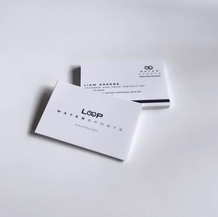 LOOP Watersports business cards