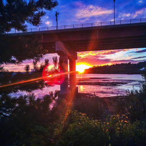 Casco Bay Bridge, South Portland, Maine (09/09/14)