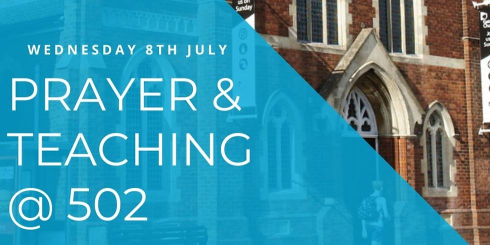 Prayer & Teaching event