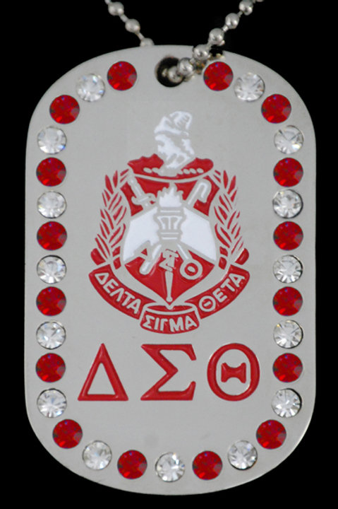 DST Bling Dog Tag