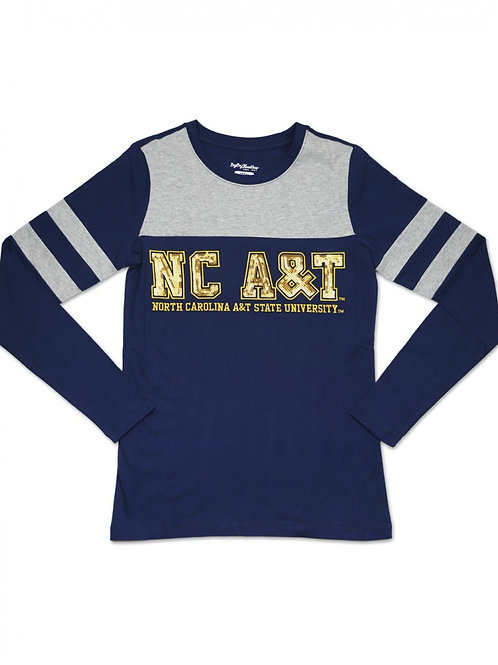 NC A&T Long Sleeve Shirt