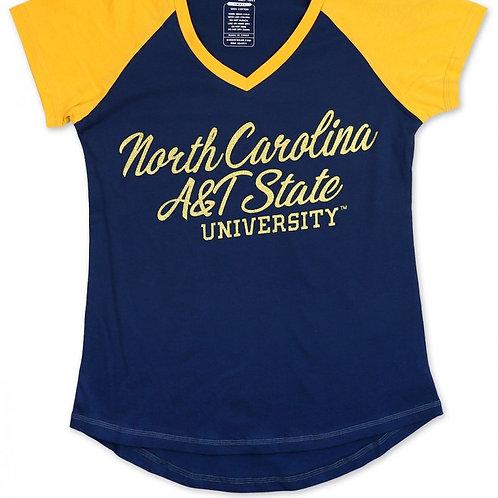 NC A&T V-Neck Shirt