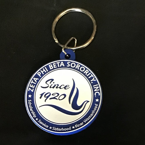 Zeta PVC Keychain