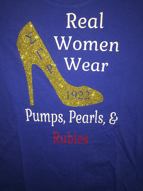 SGRho Real Women Shirt- Blue