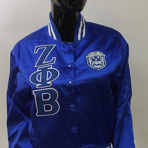 Zeta Satin Jacket