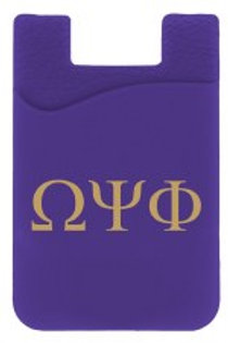Omega Silicone Phone Card Holder