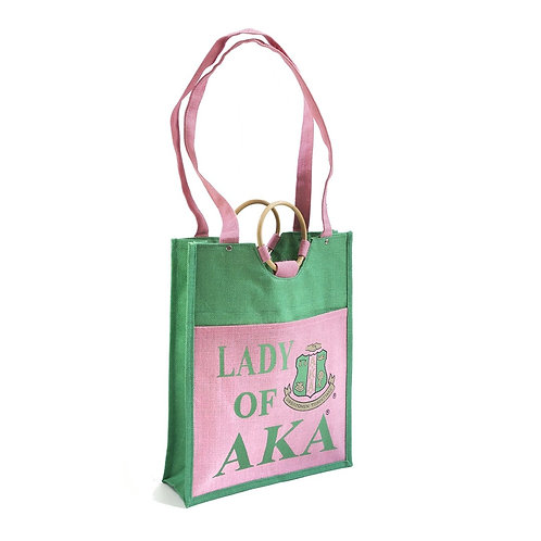 Large Pocket Jute Bag