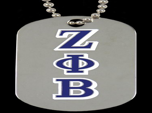 Zeta Double Sided Dog Tag